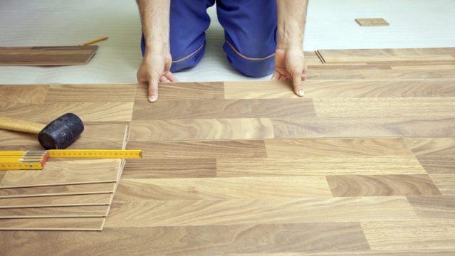 Klus hulp voor huis en bedrijf - Het leggen van laminaat, houten vloeren en vinyl